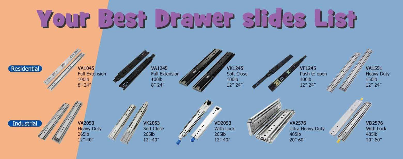 vadania drawer slides